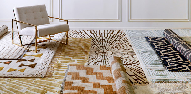 hand tufted rugs carpets manufacturer exporter India