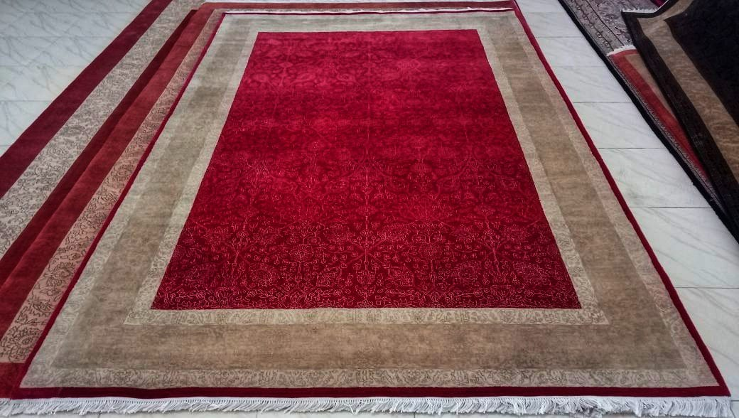 hand-knotted rugs and carpets manufacturer & exporter in India